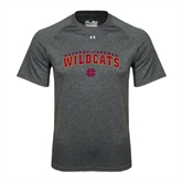 Under Armour Carbon Heather Tech Tee-Arched Bethune-Cookman Wildcats