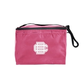Six Pack Pink Cooler-BC Logo