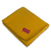 Gold Arctic Fleece Blanket-BCU