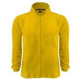 Fleece Full Zip Gold Jacket-Wildcat Head