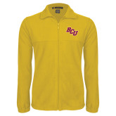 Fleece Full Zip Gold Jacket-BCU