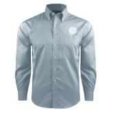 Red House Lt Blue Long Sleeve Shirt-BC Logo
