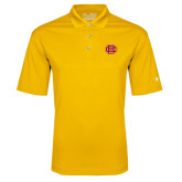 Under Armour Gold Performance Polo-BC Logo