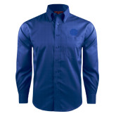Red House French Blue Long Sleeve Shirt-BC Logo