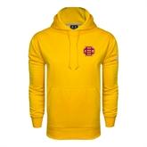 Under Armour Gold Performance Sweats Team Hood-BC Logo