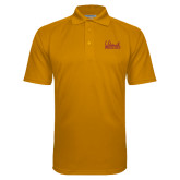 Gold Textured Saddle Shoulder Polo-Wildcats Script