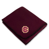 Maroon Arctic Fleece Blanket-Primary Mark