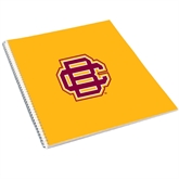 College Spiral Notebook w/Clear Coil-BC Logo