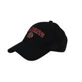 Black Heavyweight Twill Pro Style Hat-Wildcats w/BC Logo