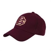 Maroon Heavyweight Twill Pro Style Hat-BC Logo