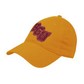 Gold Twill Unstructured Low Profile Hat-BCU