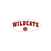 Small Magnet-Wildcats w/BC Logo, 6 in W