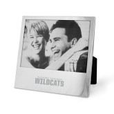 Silver 5 x 7 Photo Frame-Bethune Cookman Wildcats Stacked Engraved