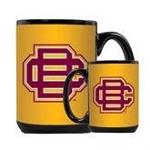 Full Color Black Mug 15oz-BC Logo