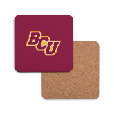 Hardboard Coaster w/Cork Backing-BCU