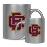 11oz Silver Metallic Ceramic Mug-Primary Mark