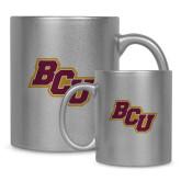 11oz Silver Metallic Ceramic Mug-BCU
