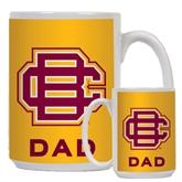 Dad Full Color White Mug 15oz-BC Logo