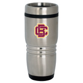 Rolling Ridges Silver Stainless Tumbler 16oz-Primary Mark
