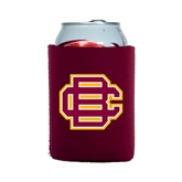 Collapsible Maroon Can Holder-BC Logo