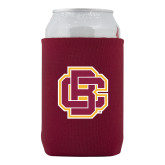 Neoprene Maroon Can Holder-Primary Mark