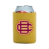 Collapsible Gold Can Holder-BC Logo