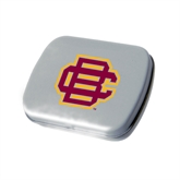 Silver Rectangular Peppermint Tin-BC Logo