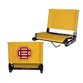 Stadium Chair Gold-BC Logo