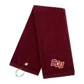 Maroon Golf Towel-BCU