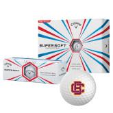 Callaway Supersoft Golf Balls 12/pkg-Primary Mark