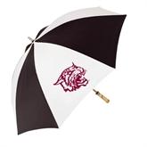 62 Inch Black/White Umbrella-Wildcat Head