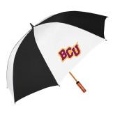 62 Inch Black/White Vented Umbrella-BCU