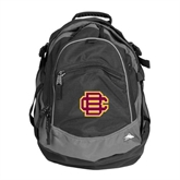 High Sierra Black Fat Boy Day Pack-BC Logo