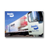 11 x 14 Photographic Print-Bendix Truck Parking Lot
