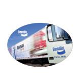 Medium Decal-Bendix Truck Parking Lot, 7 inches wide