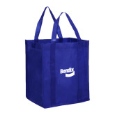 Non Woven Royal Grocery Tote-Bendix