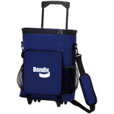 30 Can Blue Rolling Cooler Bag-Bendix