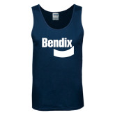 Navy Tank Top-Bendix