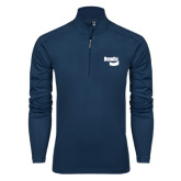 Syntrel Navy Interlock 1/4 Zip-Bendix