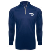 Under Armour Navy Tech 1/4 Zip Performance Shirt-Bendix