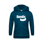 Youth Navy Fleece Hoodie-Bendix