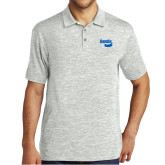 Silver Electric Heather Polo-Bendix