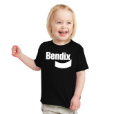 Toddler Black T Shirt-Bendix