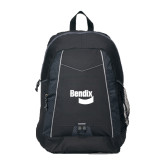 Impulse Black Backpack-Bendix