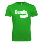 Next Level SoftStyle Kelly Green T Shirt-Bendix