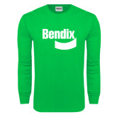 Kelly Green Long Sleeve T Shirt-Bendix