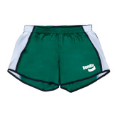 Ladies Dark Green/White Team Short-Bendix