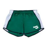 Ladies Dark Green/White Team Short-Bendix