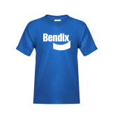 Youth Royal T Shirt-Bendix