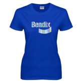 Ladies Royal T Shirt-Bendix Foil